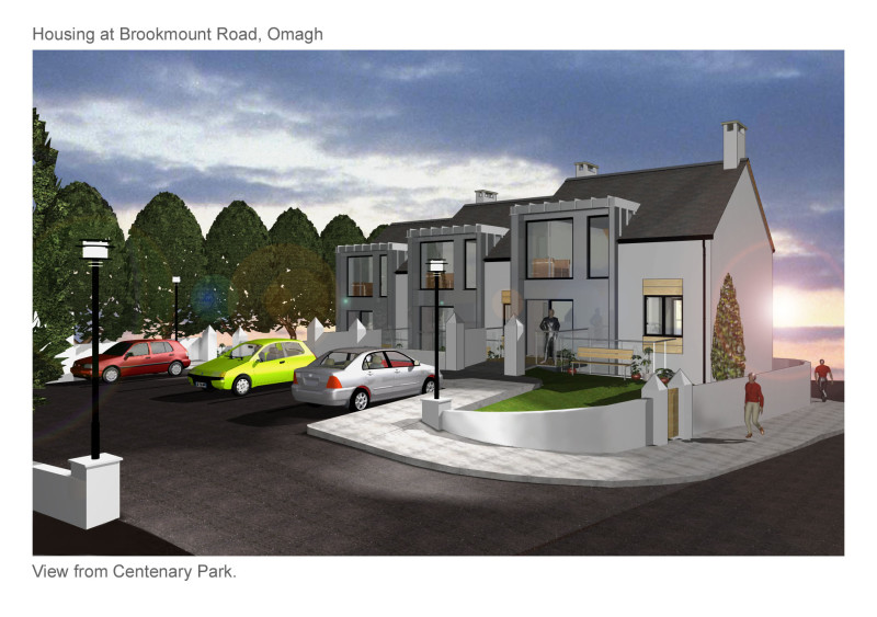 Terrace Houses, Brokmount Road, Omagh