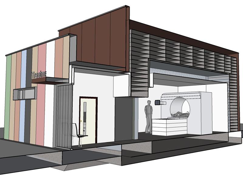Modular Radiation Treatment Room
