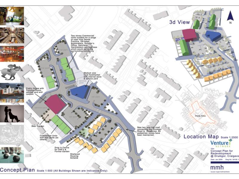 Redevelopment Master Plan for Drumgor, Craigavon