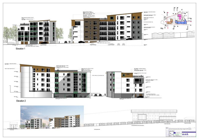 Apartment Development, Omagh