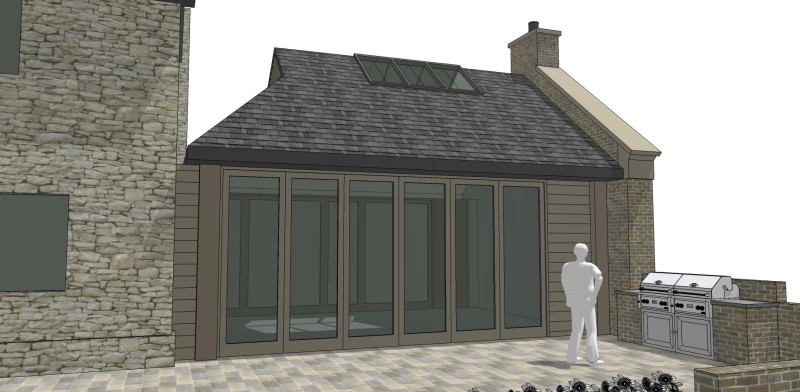 Garden Room Extension, Dungannon