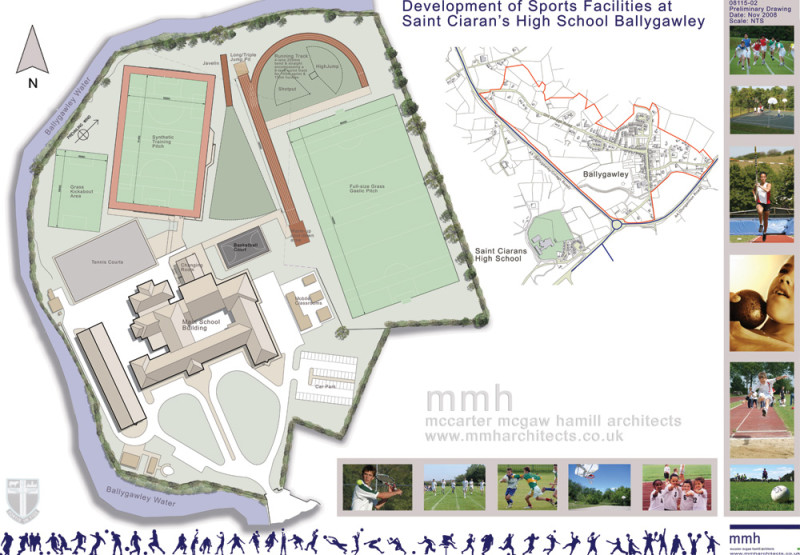 Saint Ciarans High School Sports Facilities Master Plan